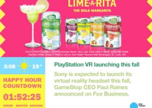 Lime Rita - Captivate Campaign